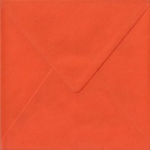 Briefhuelle Quadratisch 125 x 125 mm Orange